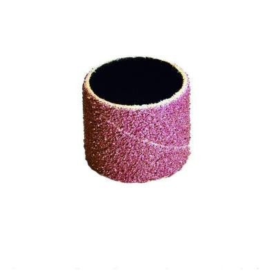 3/4 in. x 1-1/2 in. 80-Grit Cloth Band (100-Pack)