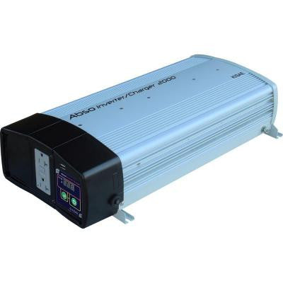Abso 2,000-Watt Sine Wave Inverter with 55-Amp Battery Charger