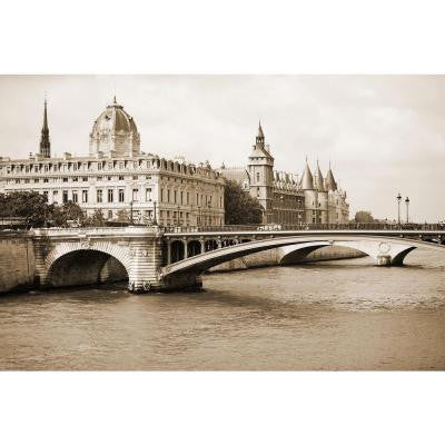 "33 in. x 22 in. ""Chouette Paris VIII"" by Austin Beiber Gallery Wrapped Canvas Wall Art"