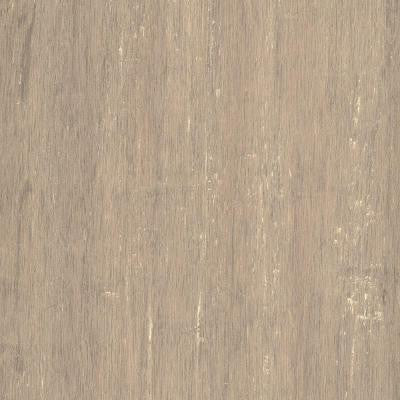 Hand Scraped Strand Woven Poppyseed 1/2 in. x 7.48 in. x 72.835 in. Engineered Click Bamboo Flooring (30.268 sqft./case)