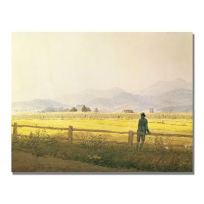 24 in. x 32 in. View of Schmiedeberge Canvas Art