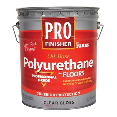 5 gal. Clear Gloss Oil-Based Interior Polyurethane