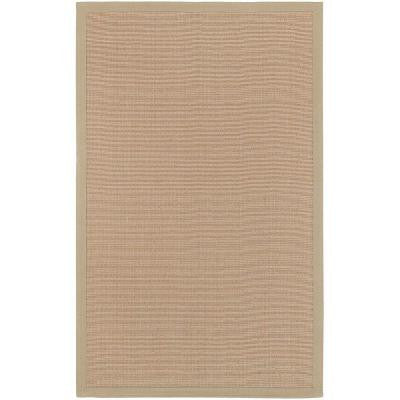 Border Town Beige 8 ft. x 10 ft. Area Rug
