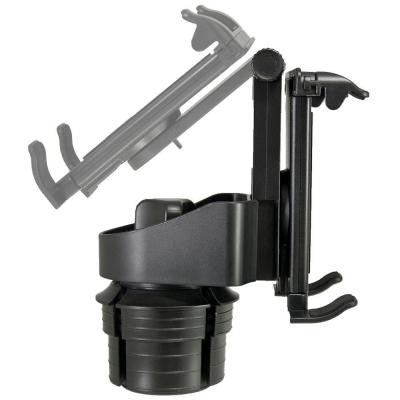 BX Tablet Cup Holder Mount - Black