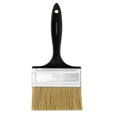 4 in. Plastic Koter Bristle Flat Brush