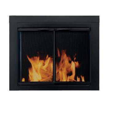 Alpine Medium Glass Fireplace Doors