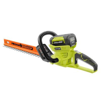 24 in. 40-Volt Lithium-Ion Cordless Hedge Trimmer