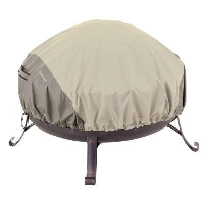 Belltown 44 in. Sidewalk Grey Round Patio Fire Pit Cover