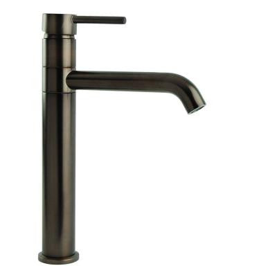 Single Hole 1-Handle Swivel Arm Euro Vessel Sink Filler Faucet in Oil Rubbed Bronze