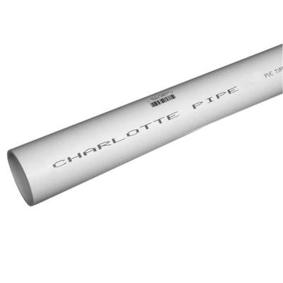 4 in. x 2 ft. PVC DWV Sch. 40 Pipe