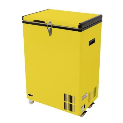 3.17 cu. ft. Portable Refrigerator/Freezer in Limited Edition Yellow