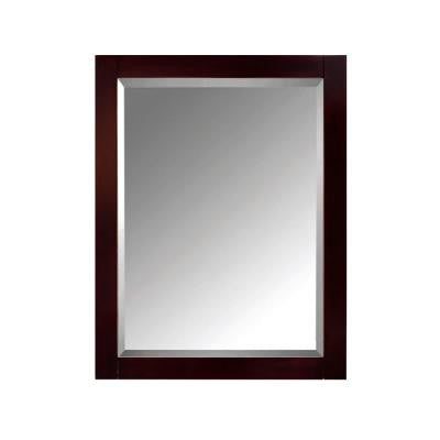 24 in. W x 30 in. H Surface-Mount Medicine Cabinet in Espresso