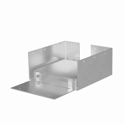 ABW 6x6 Rough ZMAX Galvanized Adjustable Post Base