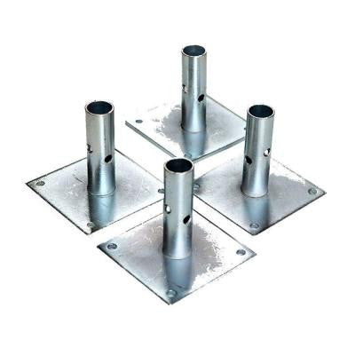 5 in. Scaffold Baseplate (4-Pack)