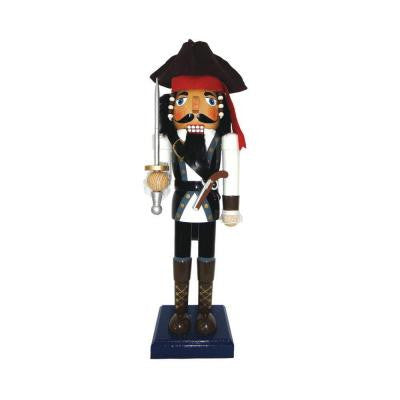 14 in. Johnny Pirate Nutcracker with Sword