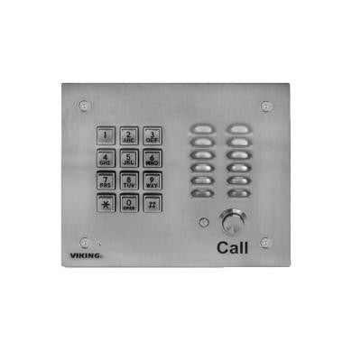 Hands-Free Phone with Key Pad - Stainless Steel