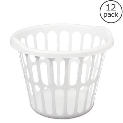 1 Bushel Round Laundry Basket (12-Case)