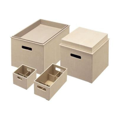 Bento Loose Linen Storage Box Set (5-Piece)