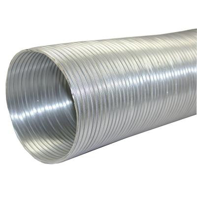 6 in. x 96 in. Round Aluminum Flex Pipe