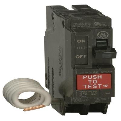Q-Line 20-Amp Single Pole Ground Fault Circuit Breaker