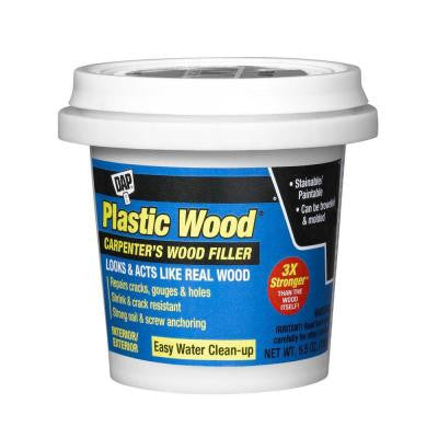 Plastic Wood 5.5 oz. Natural Latex Carpenter's Wood Filler (12-Pack)