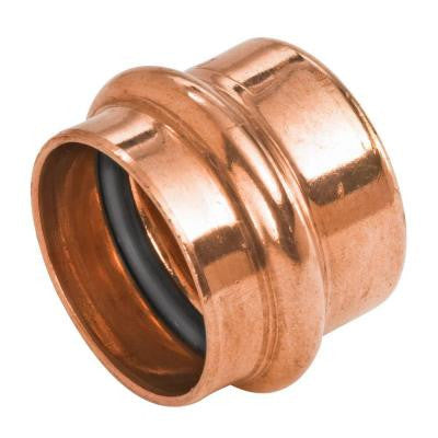 1/2 in. Copper Press Pressure Tube Cap