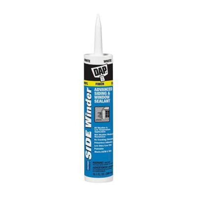Sidewinder 10.1 oz. White Advanced Polymer Siding and Window Sealant (12-Pack)