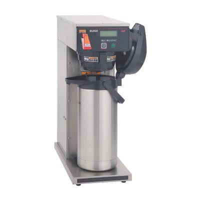 102 oz. Axiom Dual Voltage Airpot Coffee Brewer with LCD
