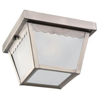 1-Light Ceiling Antique Brushed Nickel Fixture