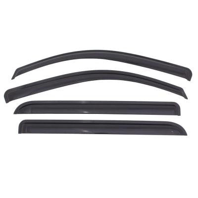 Original Ventvisor 2005 to 2014 Toyota Tacoma Double Cab Window Deflector (4-Piece)