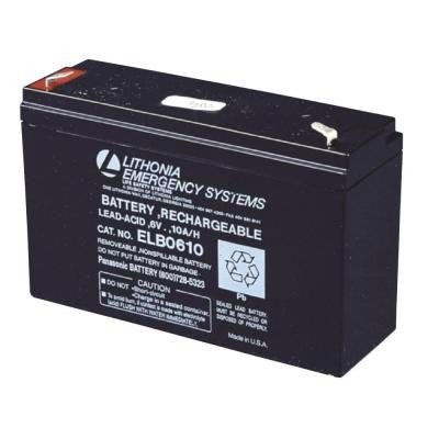 6-Volt Emergency Replacement Battery