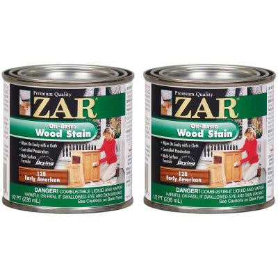 0.5-pt. Early American Wood Stain (2-Pack)