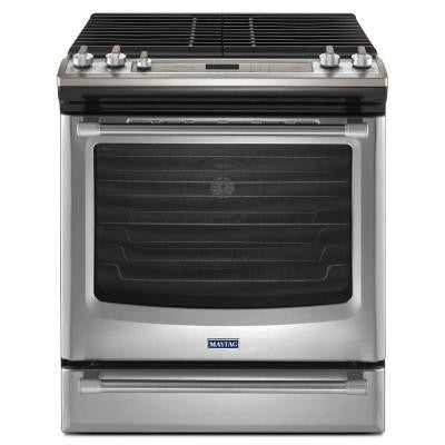 AquaLift 6.2 cu. ft. Gas Range with Self-Cleaning Convection in Stainless Steel