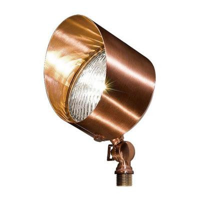Adrien 1-Light Copper Outdoor Directional Flood Light