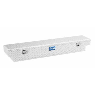 69 in. Aluminum Single Lid Crossover Slim Line Tool Box