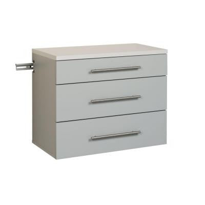HangUps Collection 24 in. Base Cabinet in Light Gray