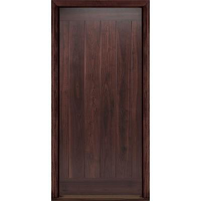 36 in. x 80 in. AvantGuard Flagstaff Finished Smooth Fiberglass Prehung Front Door with No Brickmold