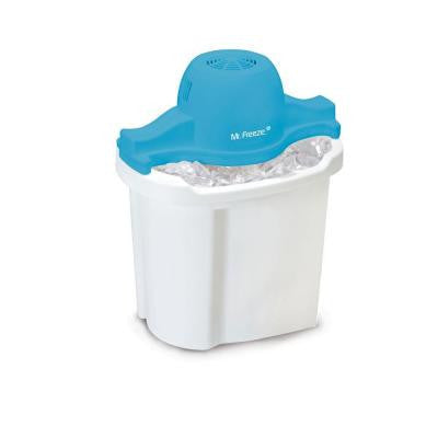 Mr. Freeze 4 Qt. Electric Ice Cream Maker in White