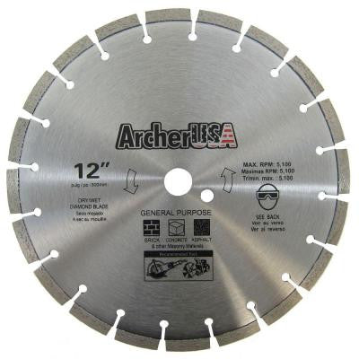 12 in. Diamond Blade for General Purpose