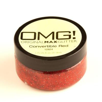 2-oz. Convertible Red Original Max Glitter Paint