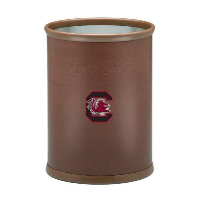 13 in. South Carolina Football Texture Trash Can