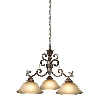 Pardina 3-Light Oil Rubbed Bronze Chandelier