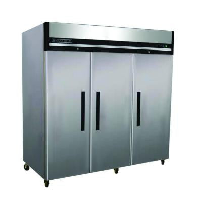 X-Series 72 cu. ft. Triple Door Commercial Reach In Upright Refrigerator in Stainless Steel