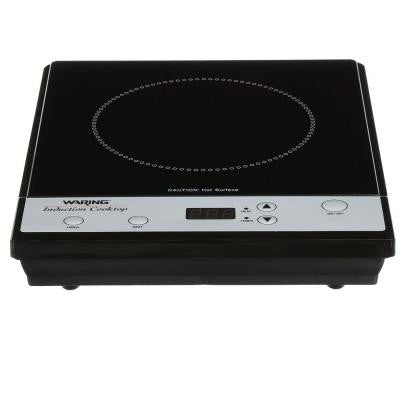 Professional 10 in. Induction Cooktop in Black with 1 Element
