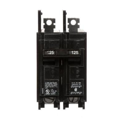 125 Amp Double-Pole Type BQ 10 kA Lug-In/Lug-Out Circuit Breaker
