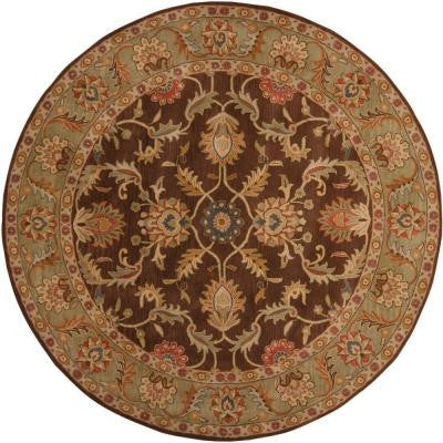 John Brown 4 ft. Round Area Rug