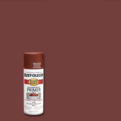 12 oz. Flat Red Automotive Primer Spray Paint (6-Pack)
