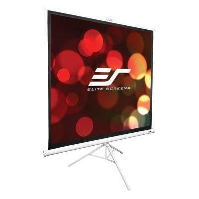 Tripod Series 85 in. Diagonal Portable Projection Screen with 1:1 Ratio