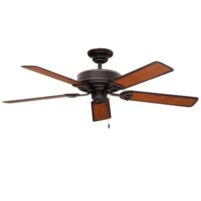 Farmington 52 in. Indoor Tarnished Bronze Ceiling Fan