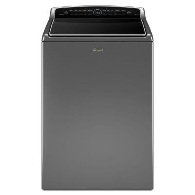 Cabrio 5.3 cu. ft. High-Efficiency Top Load Washer with Steam in Chrome Shadow, ENERGY STAR
